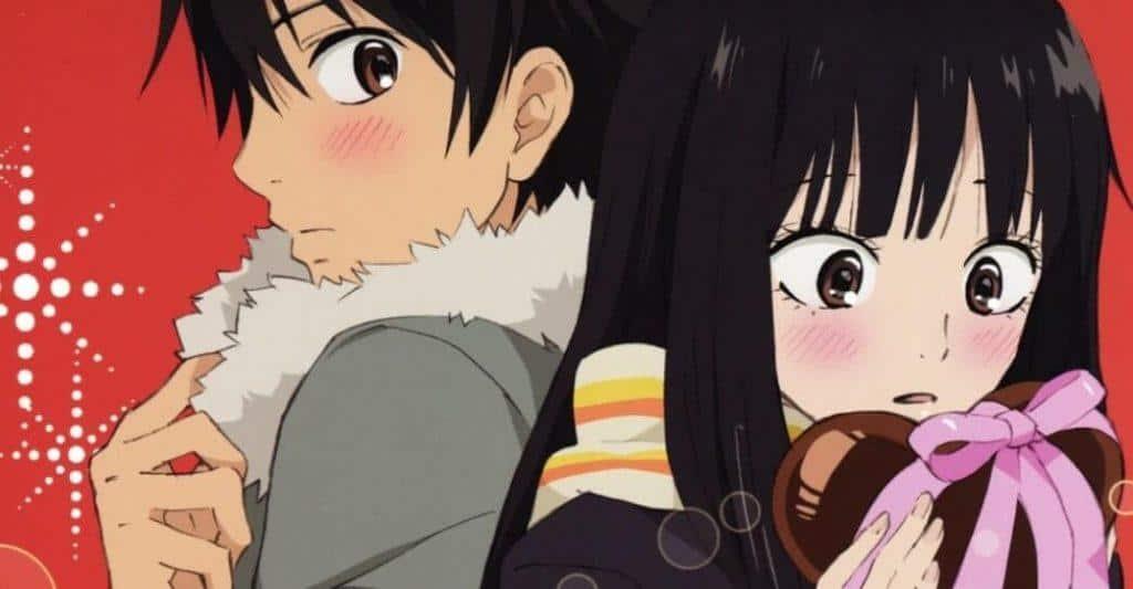 Entrega de chocolates em Kimi ni Todoke