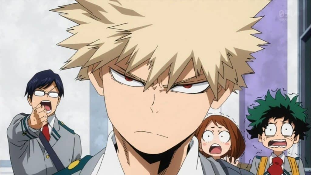 Bakugo, de Boku no Hero