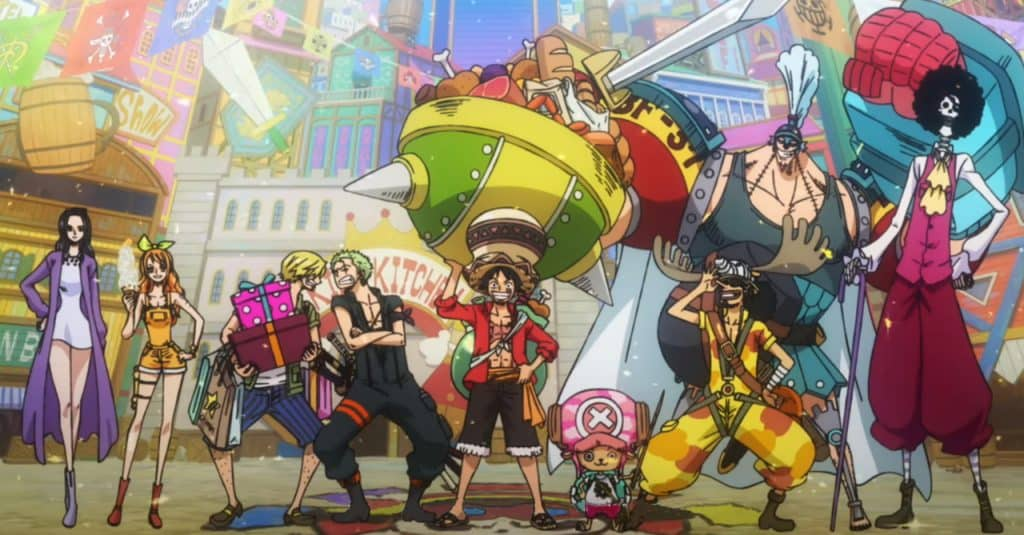 One Piece Stampede, Mugiwaras de roupa louca