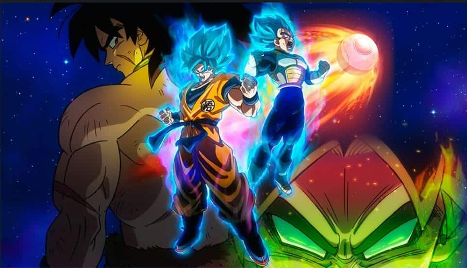 Dragon Ball Super Broly, Vegeta e Goku