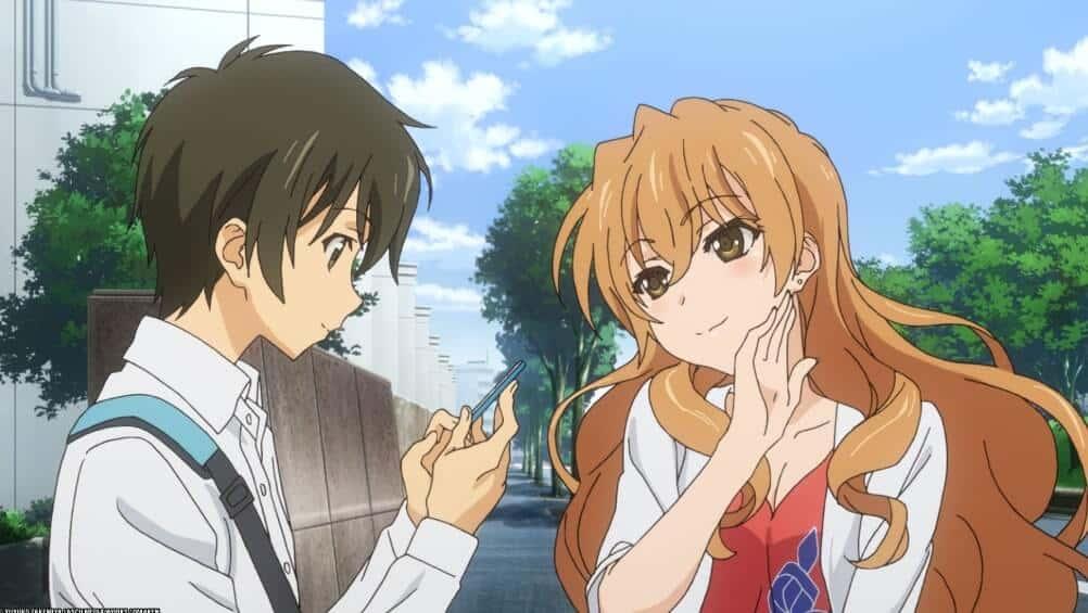 Banri e Kouko, de Golden Time