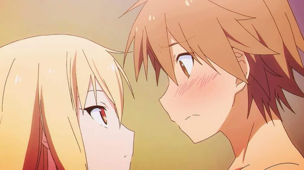 Sorata e Shiina, de Sakurasou no Pet na Kanojo