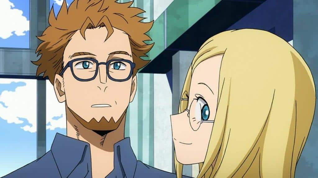 My Hero Academia: Two Heroes, Dave e Melissa Shield