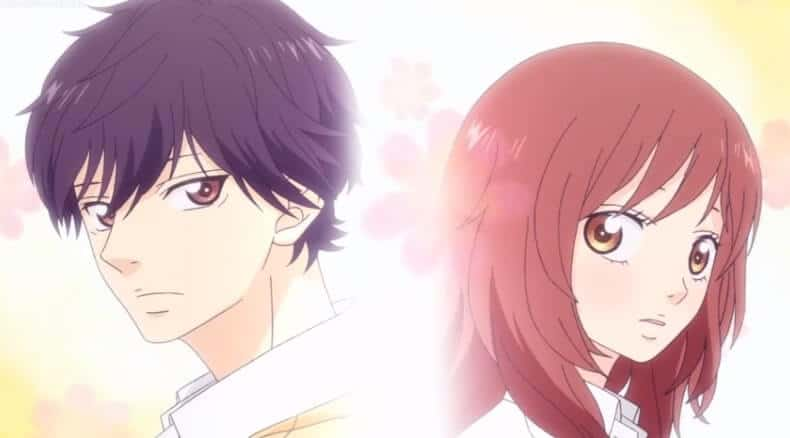 Ao Haru Ride personagens principais