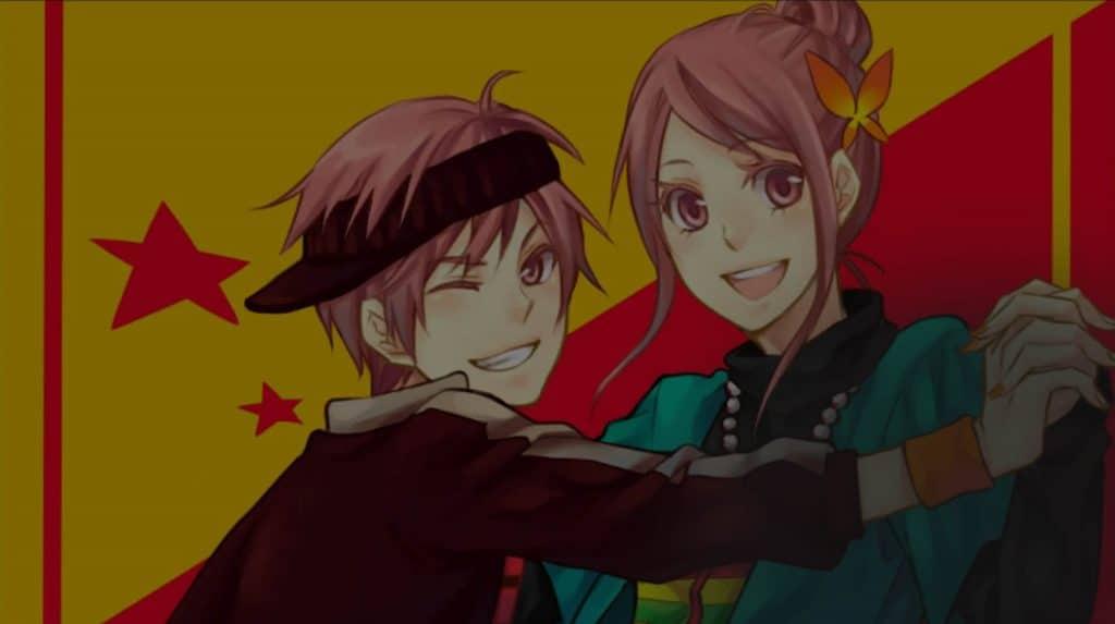 5 Animes de romance lista capa