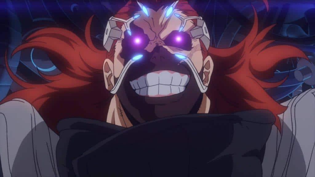 My Hero Academia: Two Heroes, vilão que eu nao lembro o nome usando uma mascara
