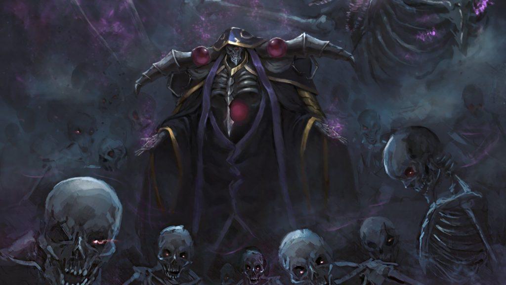 Overlord, Ainz-sama e esqueletos