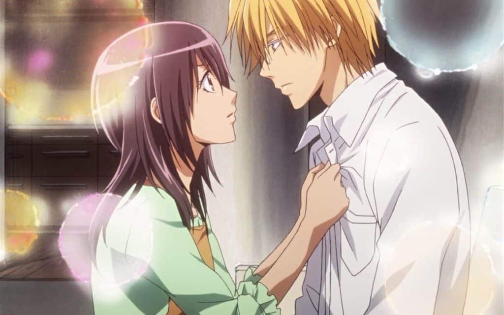 Usui e Misaki, de kaichou. Anime shoujo