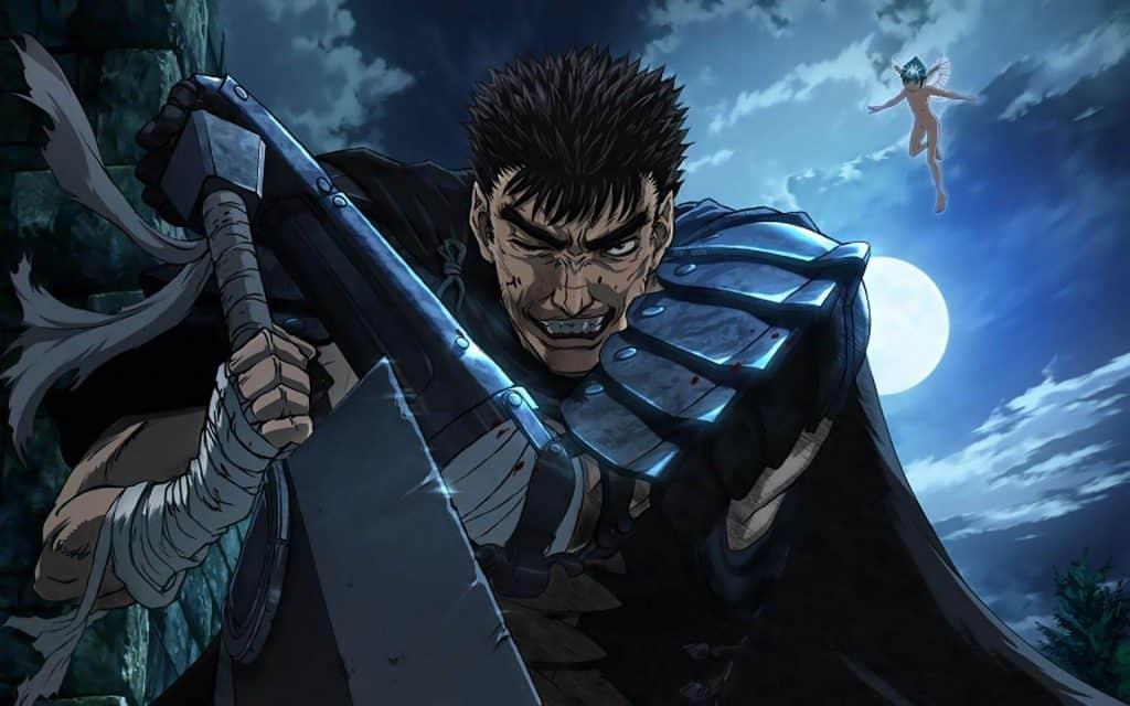 Berserk anime seinen, Gatsu