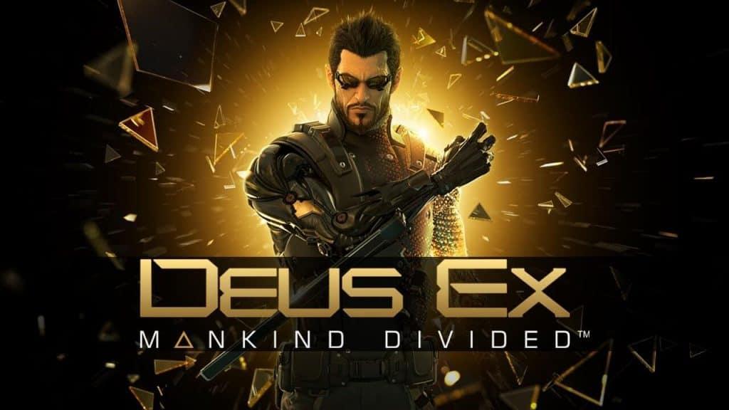 Deus Ex o jogo, capa