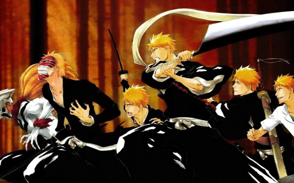 Ichigo de Bleach e todas as suas taransformações