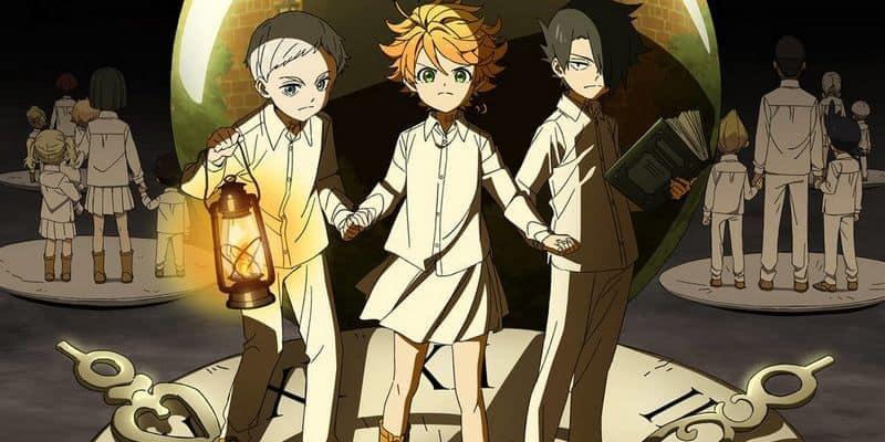 Protagonistas de Yakusoku no Neverland