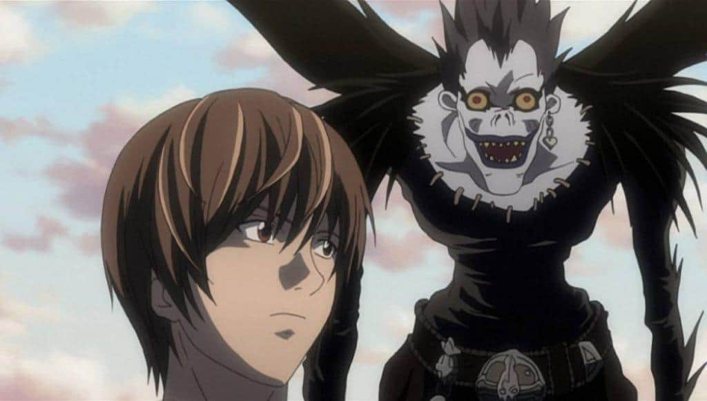 Light Yagami e seu shinigami, Ryuk
