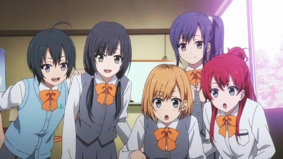 Elenco de Shirobako, no colegial