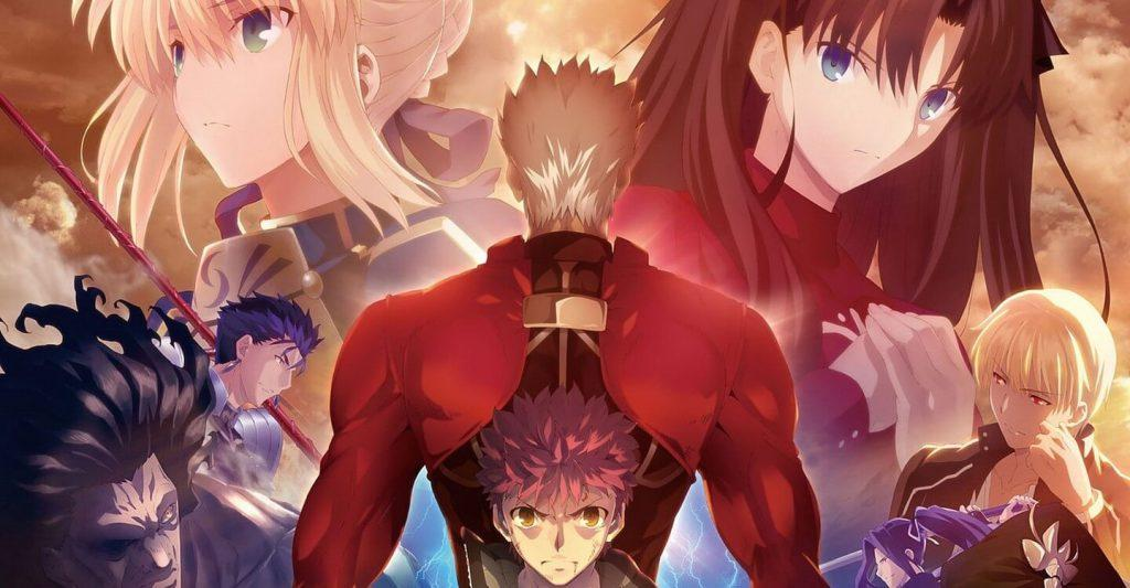 Fate/Stay Night Unlimited Bladeworks, Shirou, Archer e outros personagens