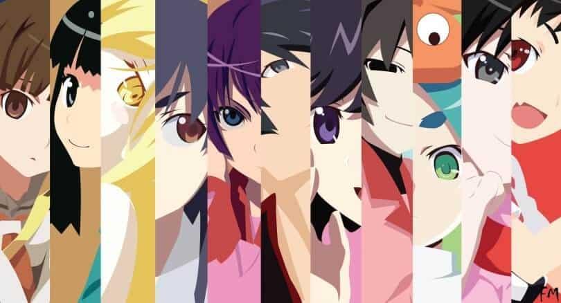 Personagens de Monogatari Series