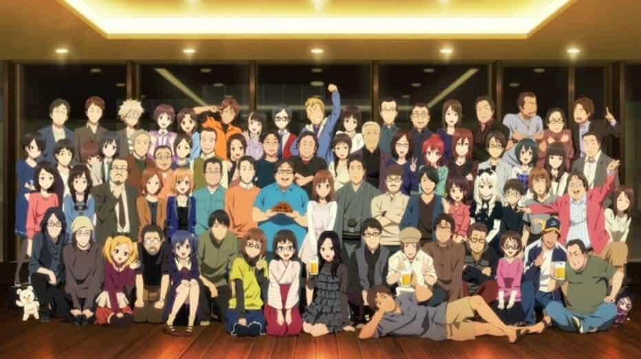 Elenco completo do anime Shirobako