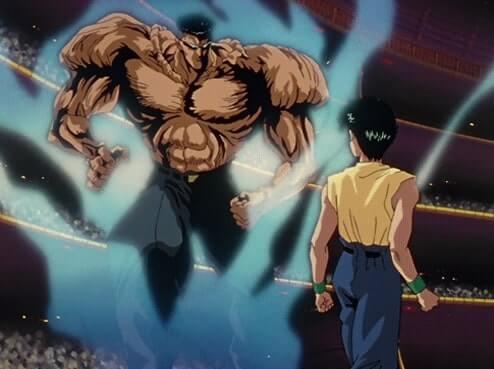 Yusuke contra Toguro