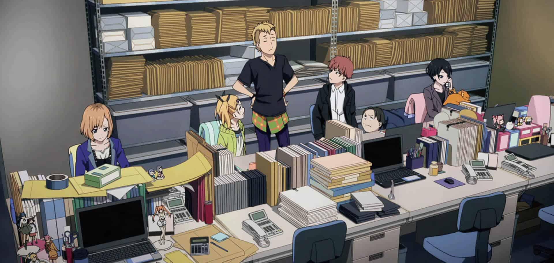 como funciona a indústria dos animes