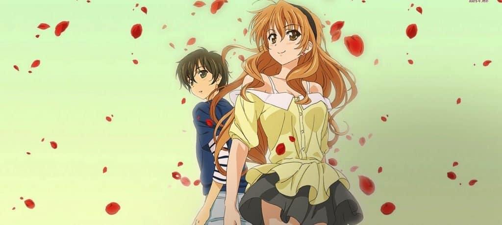 melhores animes de romance golden time
