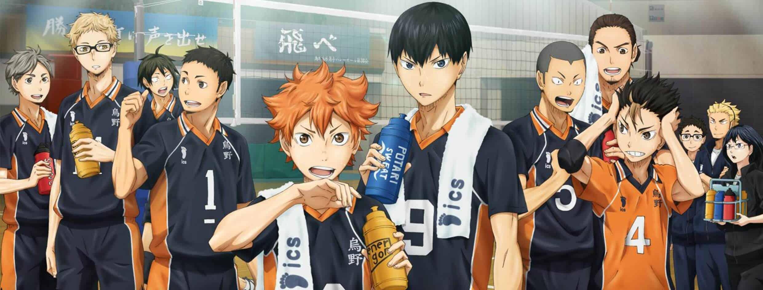 Animes de Esporte pt1 Cúpula Capa