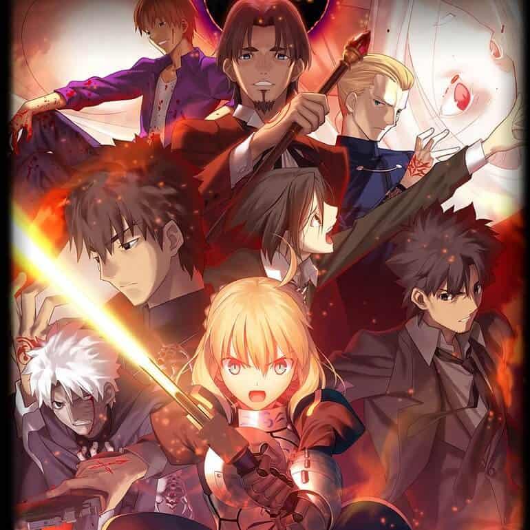 Fate Zero, elenco