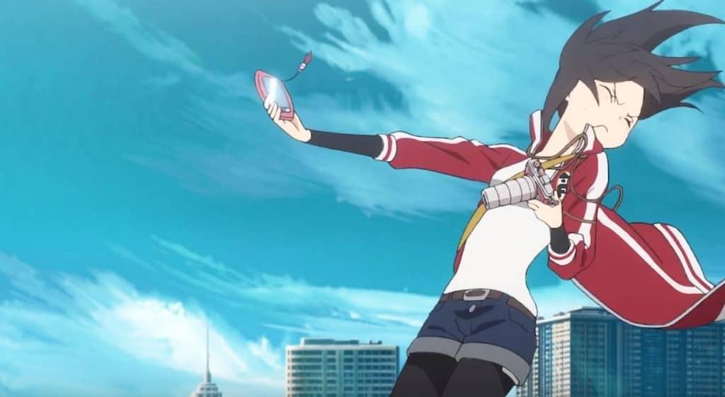 BLACKFOX Rikka levando um ventão na cara pelo celular