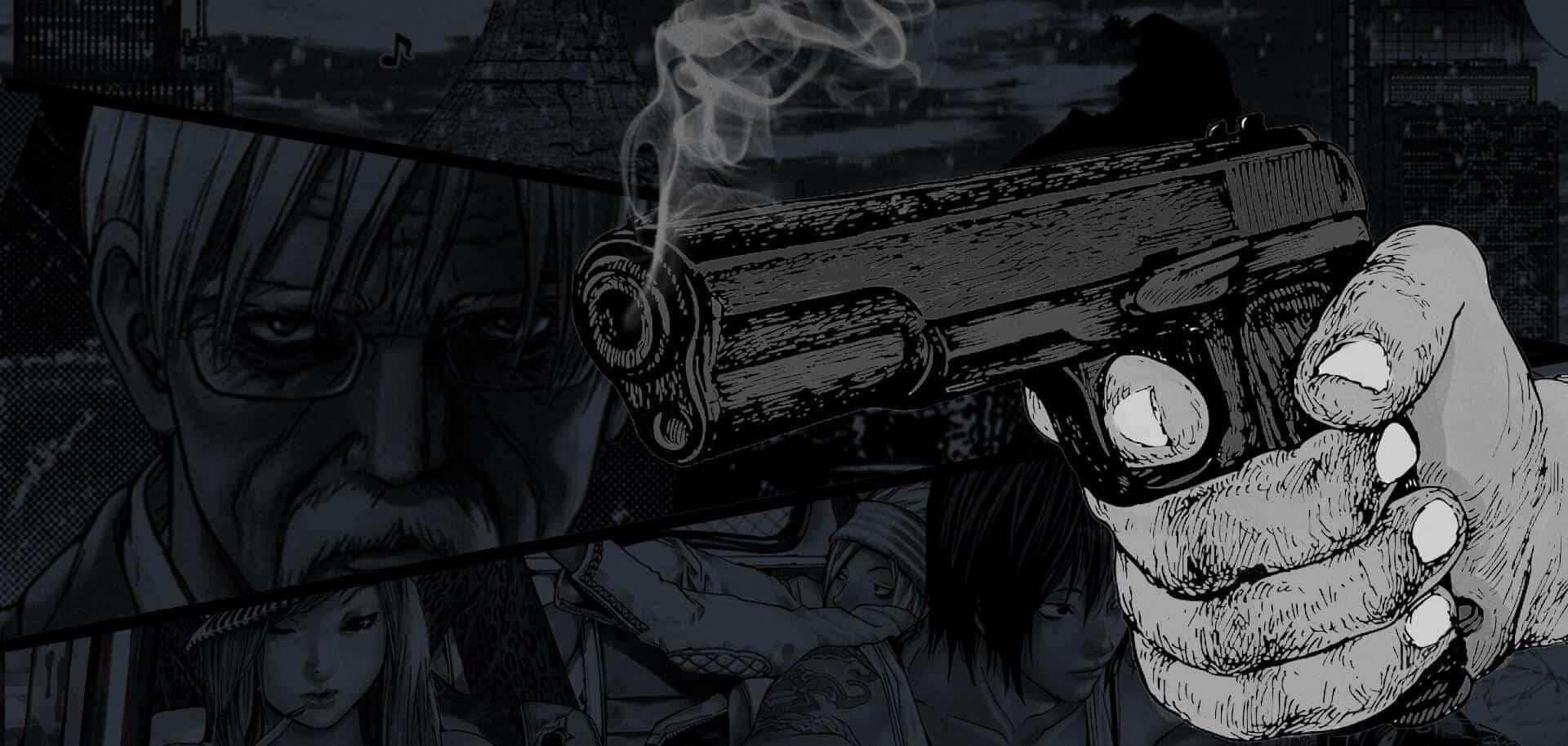 Capa-de-especial-One Shot mão com arma