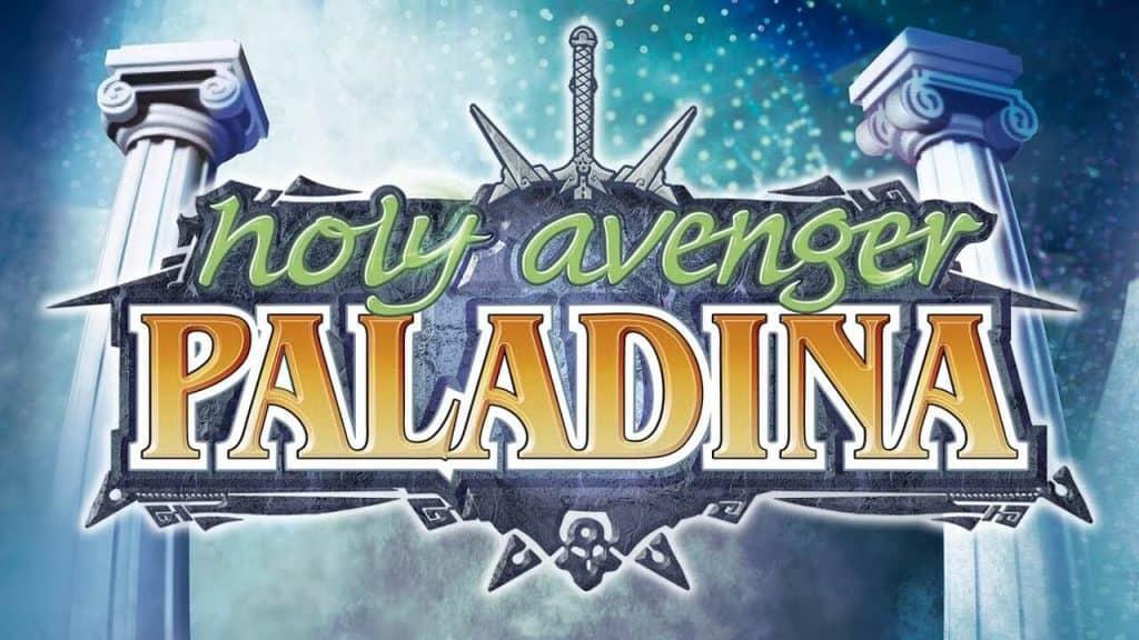 Hoky-Avenger-Paladina anúncio com título