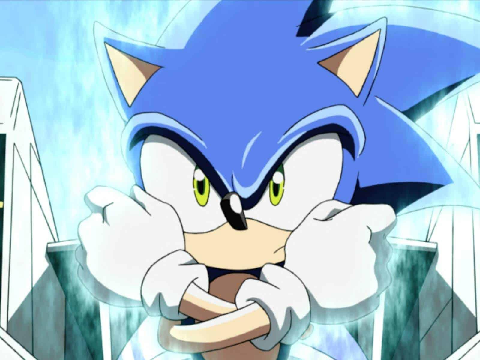 Sonic Anime Capa Notícia