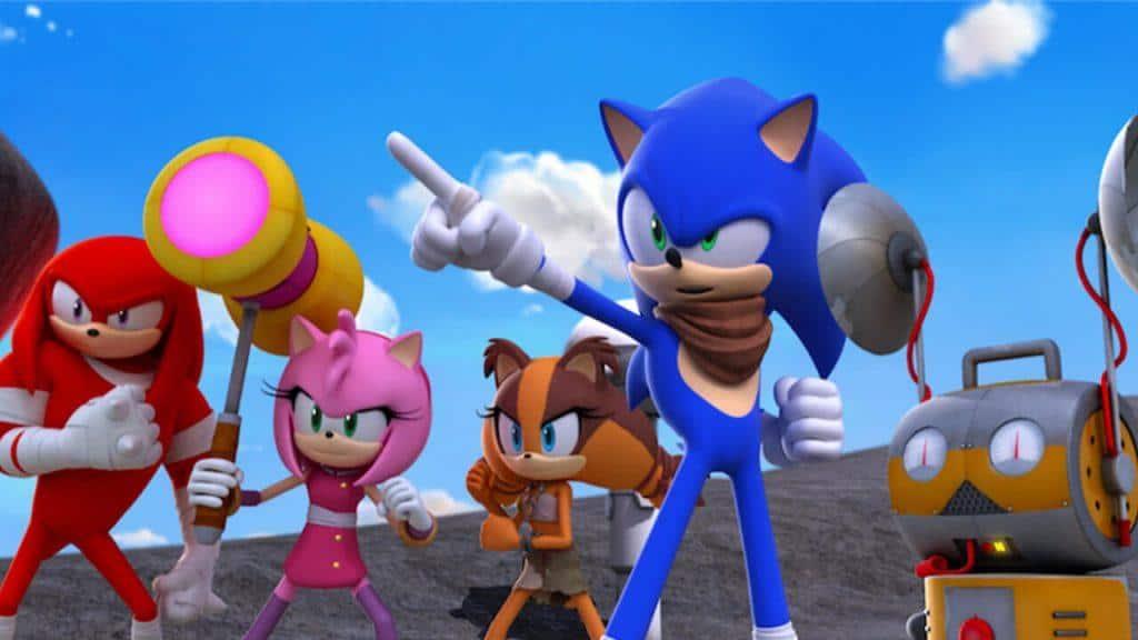 Sonic Boom na Netflix