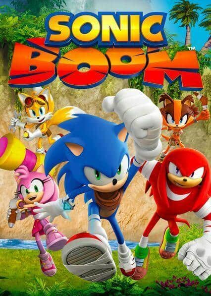 Sonic Boom na Netflix visual