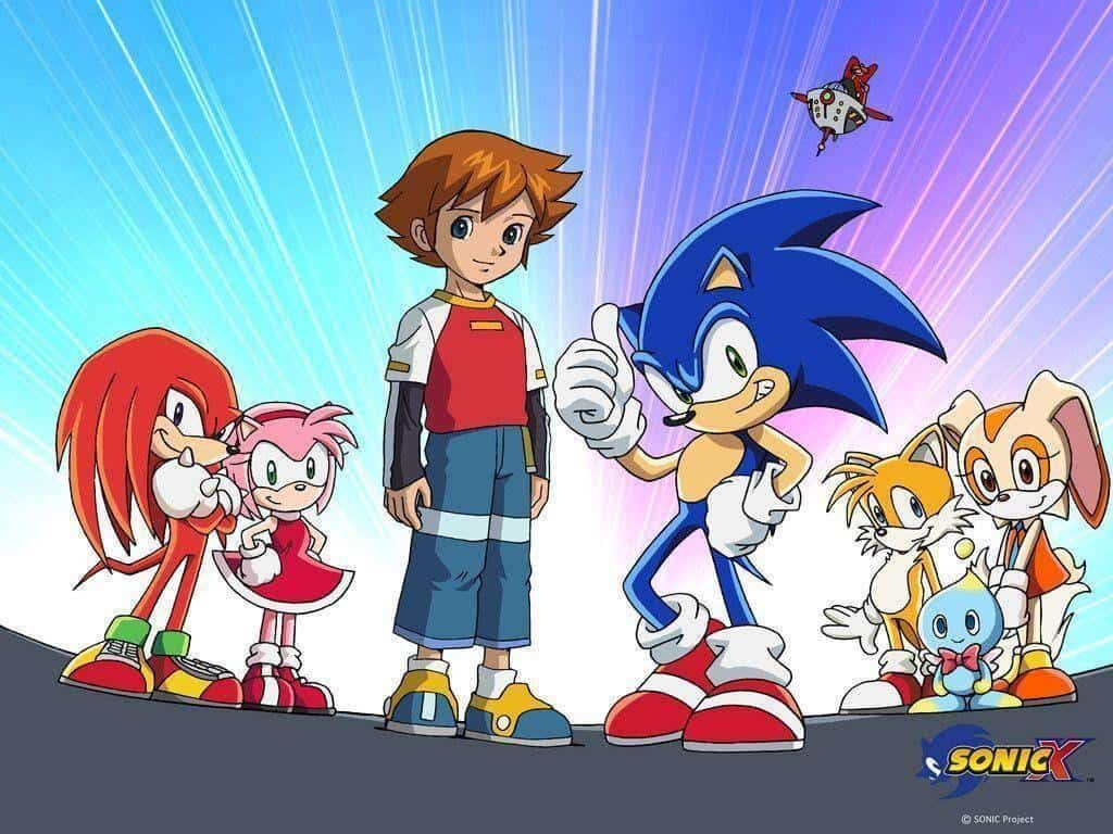 Sonic X elenco principal