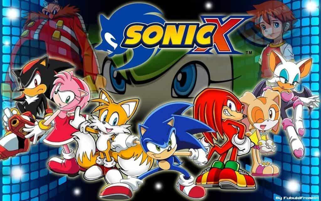 Sonic X, na Netflix, elenco principal