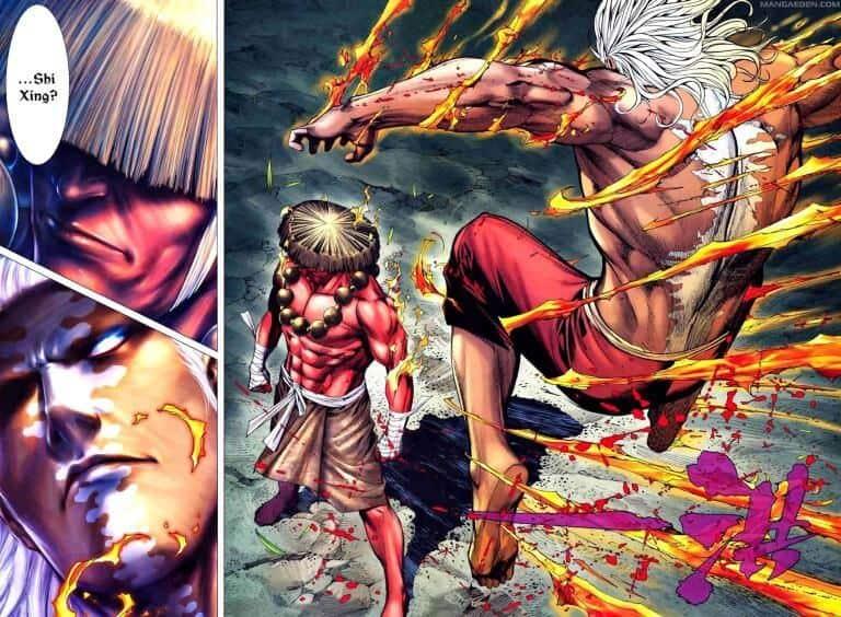 Deuses-Feng-Shen-Ji lutando