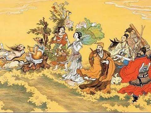 Deuses-chineses religião pintura