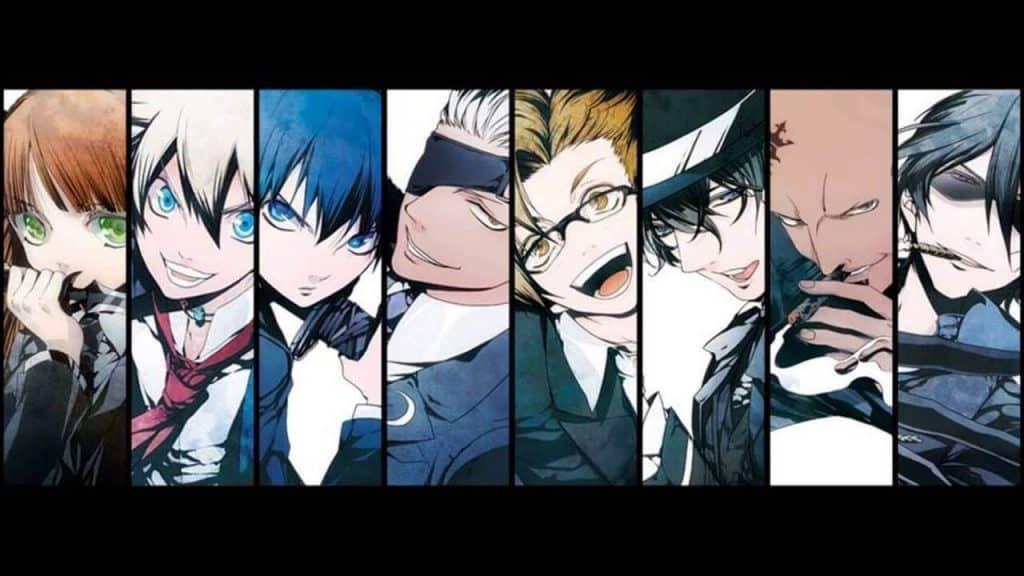 Elenco de Arcana Familia, visual novel, 8 personagens
