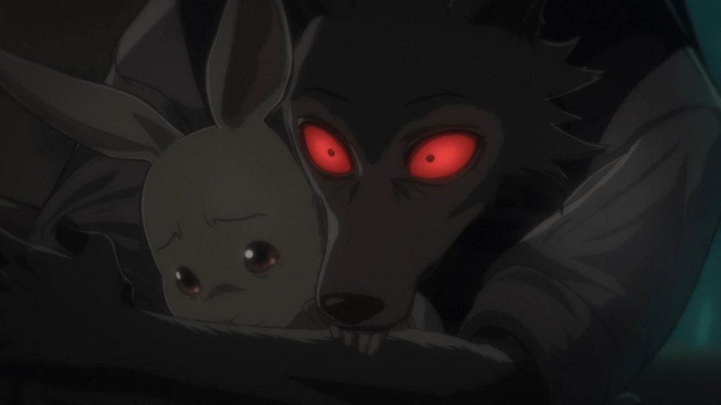 Legosi e Haru, em estado de choque
