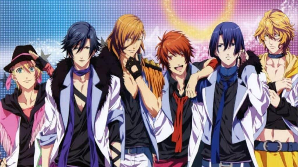 Príncipes de Uta no Prince Sama, um anime de harém invertido