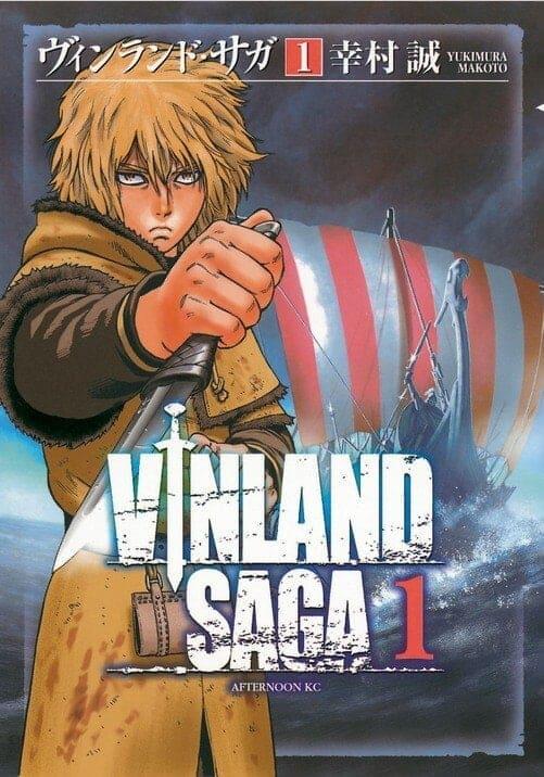 Vinland Saga capa nova Panini