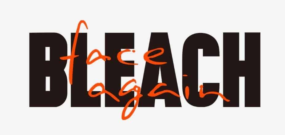 Bleach Face Again Website