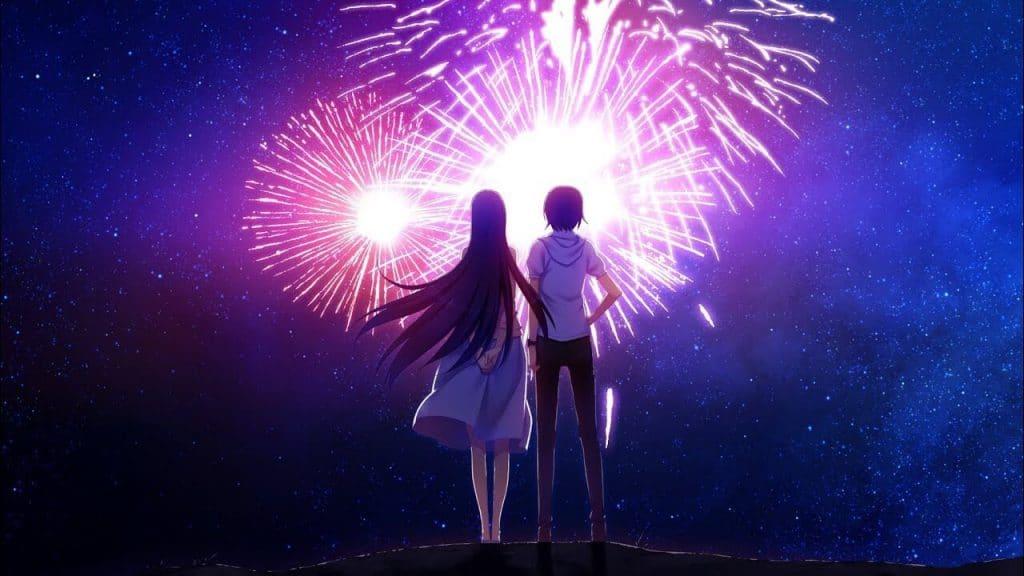 Fireworks Anime Capa Noticia
