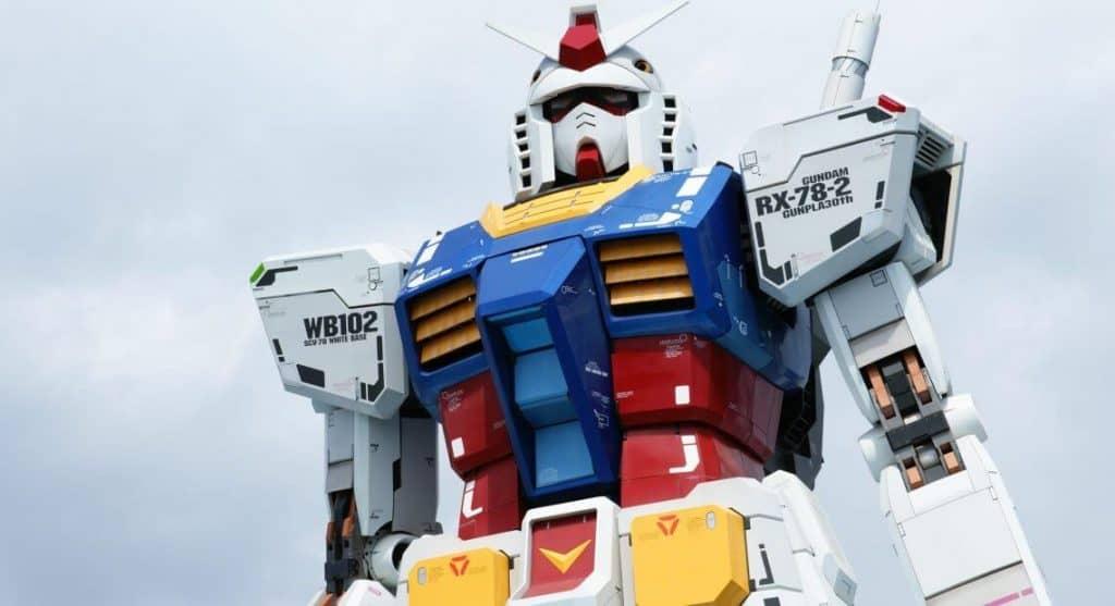 Gundam Robo Gigante Estatua