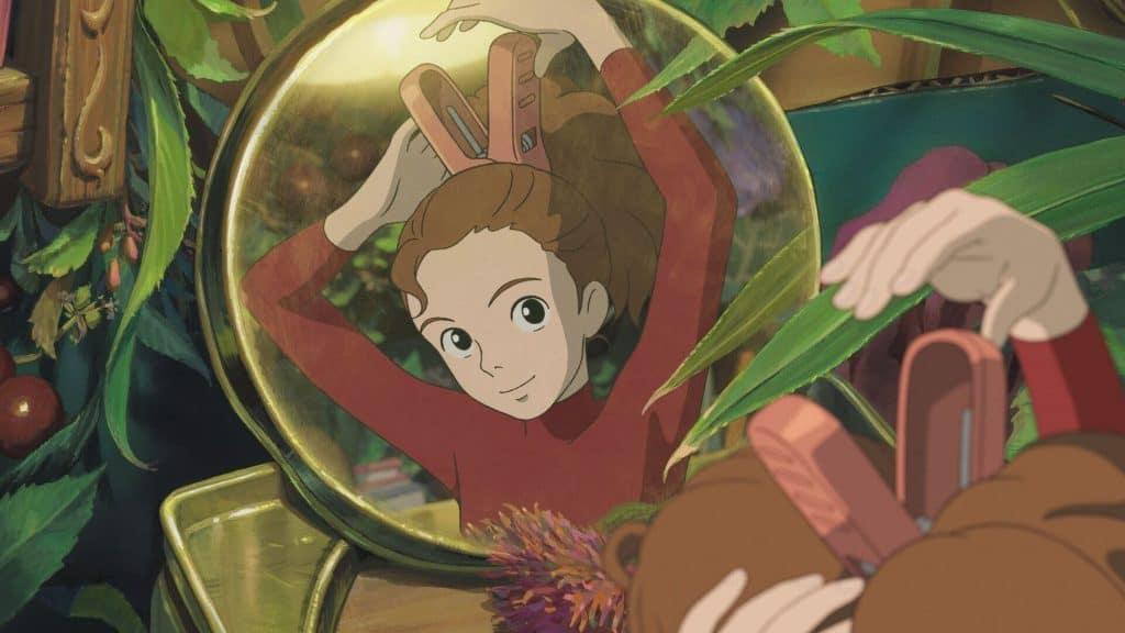 O Mundo dos Pequeninos capa notícia do Ghibli