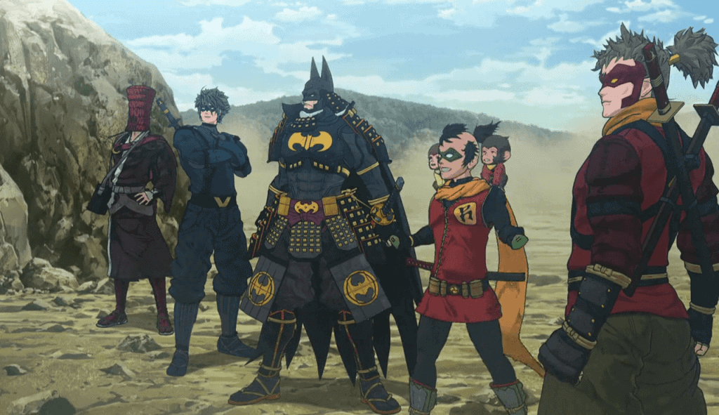batman-ninja-character design