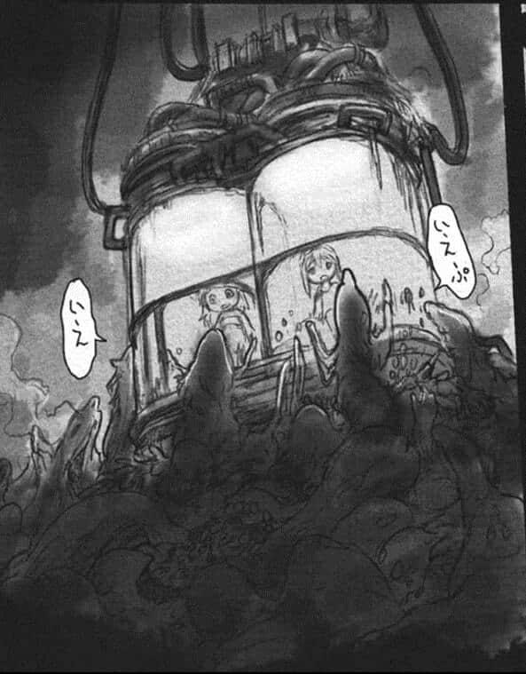elevador de made in abyss