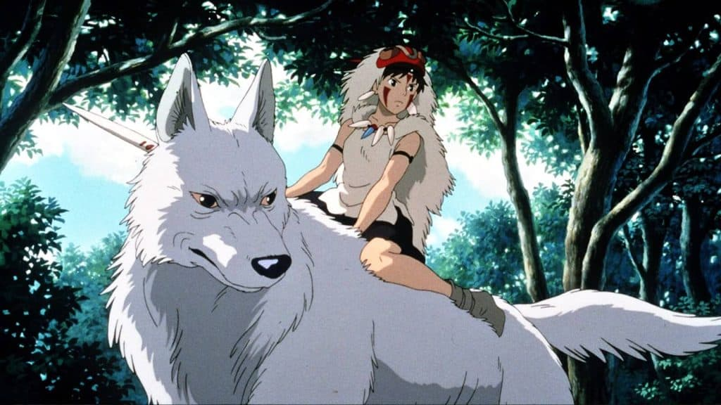 mononoke hime do ghibli