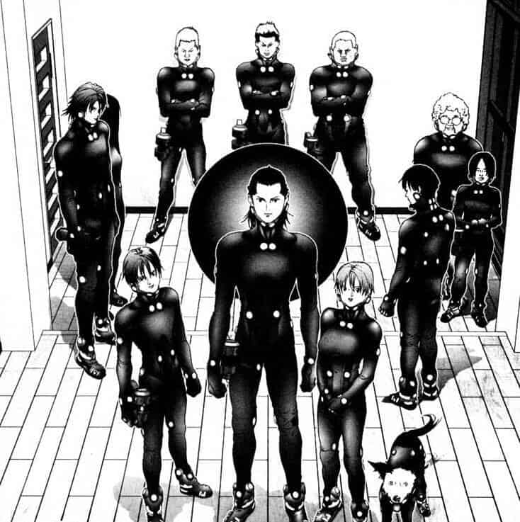 Gantz Mangas Seinen 4