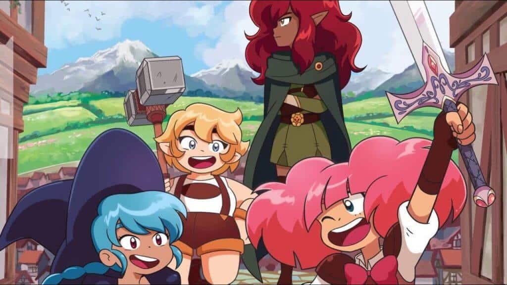 High Guardian Spice novo anime do Crunchyroll Originals