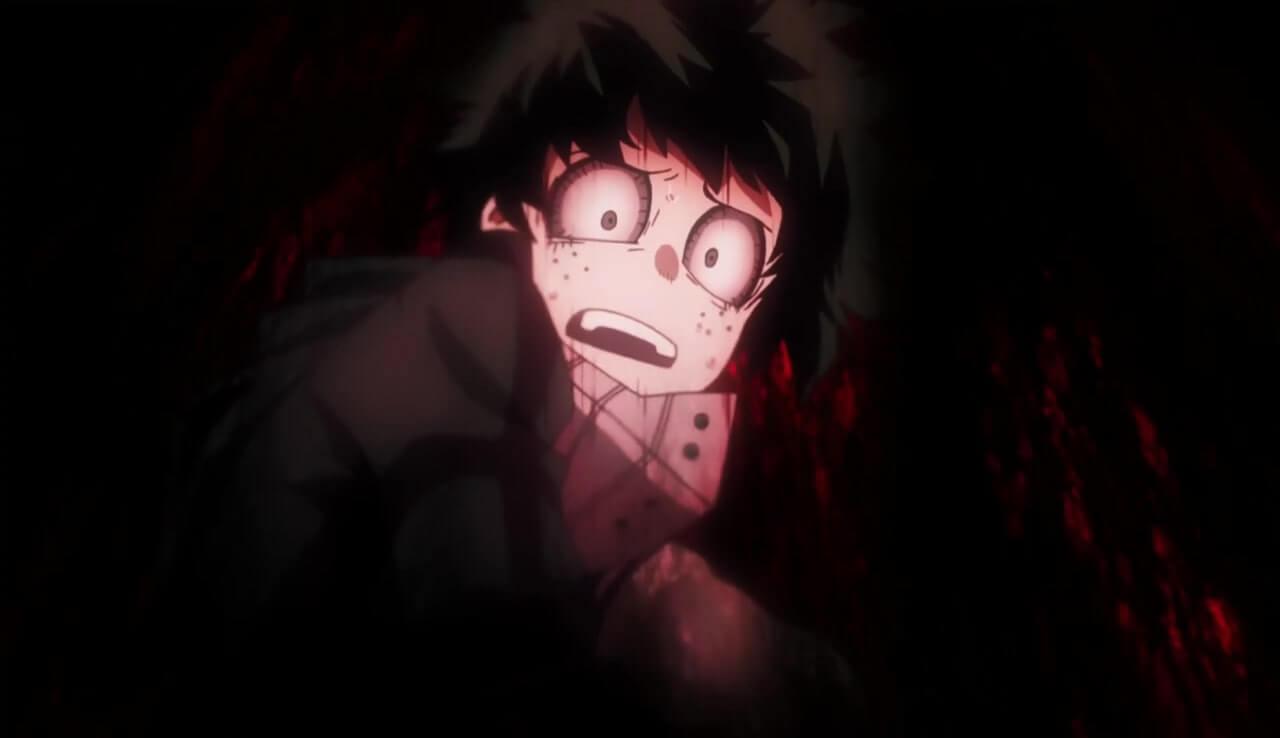 My Hero Academia Deku com medo (1)